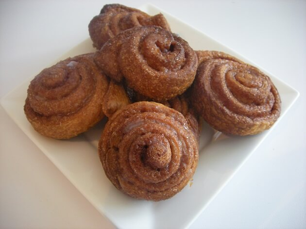 Recept – Cinnamon rolls