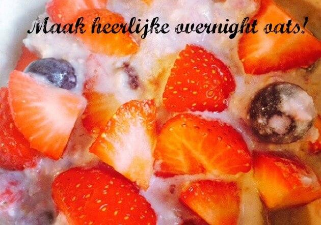Recept-overnight-oats-MindandBeauty.nl