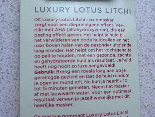 Review-Luxury Lotus Litchi-MindandBeauty.nl