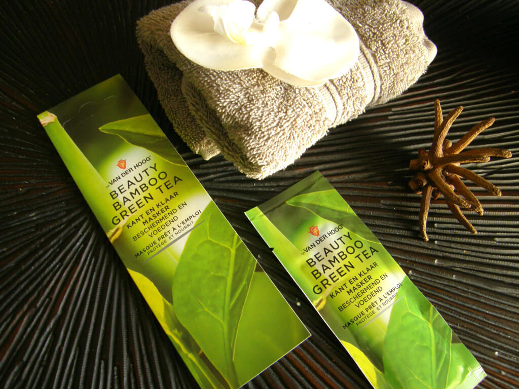Review - Dr. Van der Hoog Beauty Bamboo Green Tea masker - MindandBeauty.nl