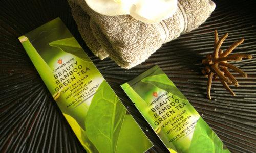 Review – Dr. Van der Hoog Beauty Bamboo Green Tea masker