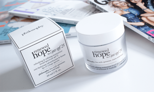 Review – Philosophy Renewed Hope In A Jar SPF 25 Moisturizer