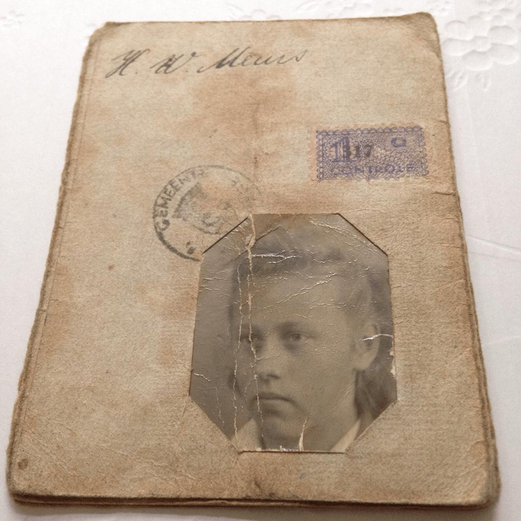 MindandBeauty.nl Een bijzondere plek voor een bijzondere oma Persoonsbewijs Tweede Wereldoorlog