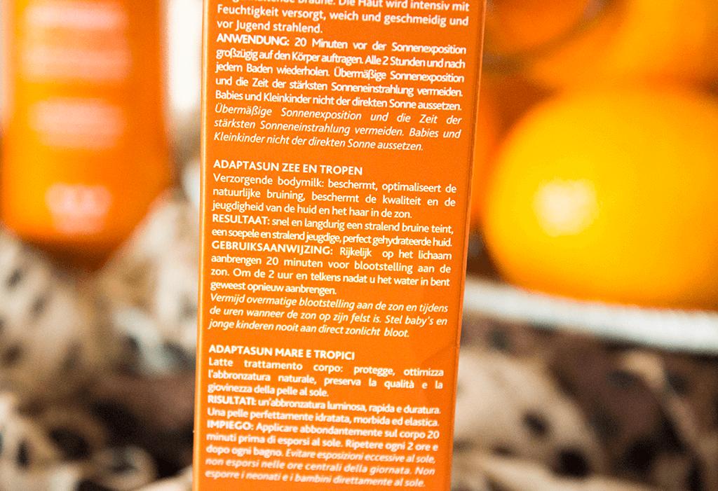 MindandBeauty.nl Review Institut Esthederm Paris Adaptasun Mer Et Tropiques Protective Body Lotion