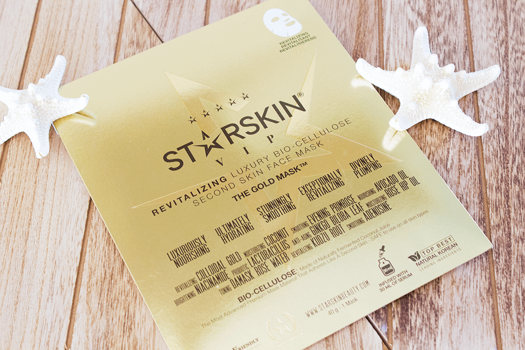MindandBeauty.nl Review STARSKIN VIP The Gold Mask