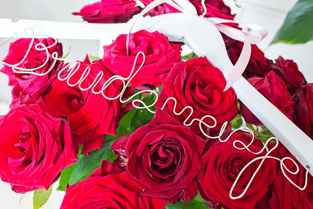 MindandBeauty.nl Hoe ik mijn bruidsmeisje heb gevraagd kledinghanger cadeau