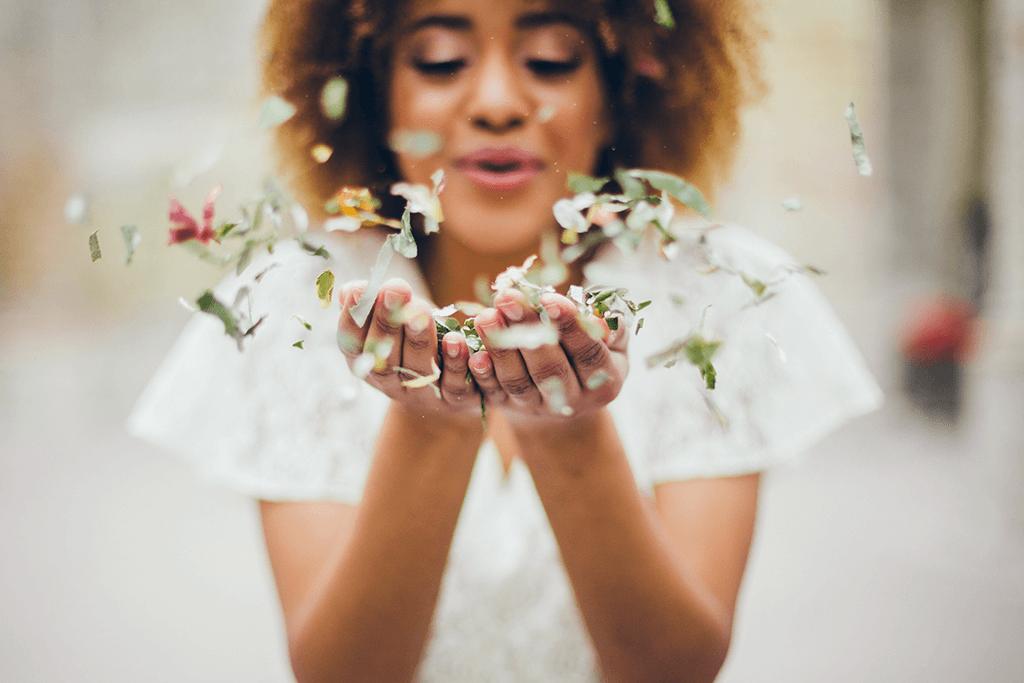 MindandBeauty.nl Nieuw Trend Biologisch Afbreekbare Bladconfetti op je bruiloft