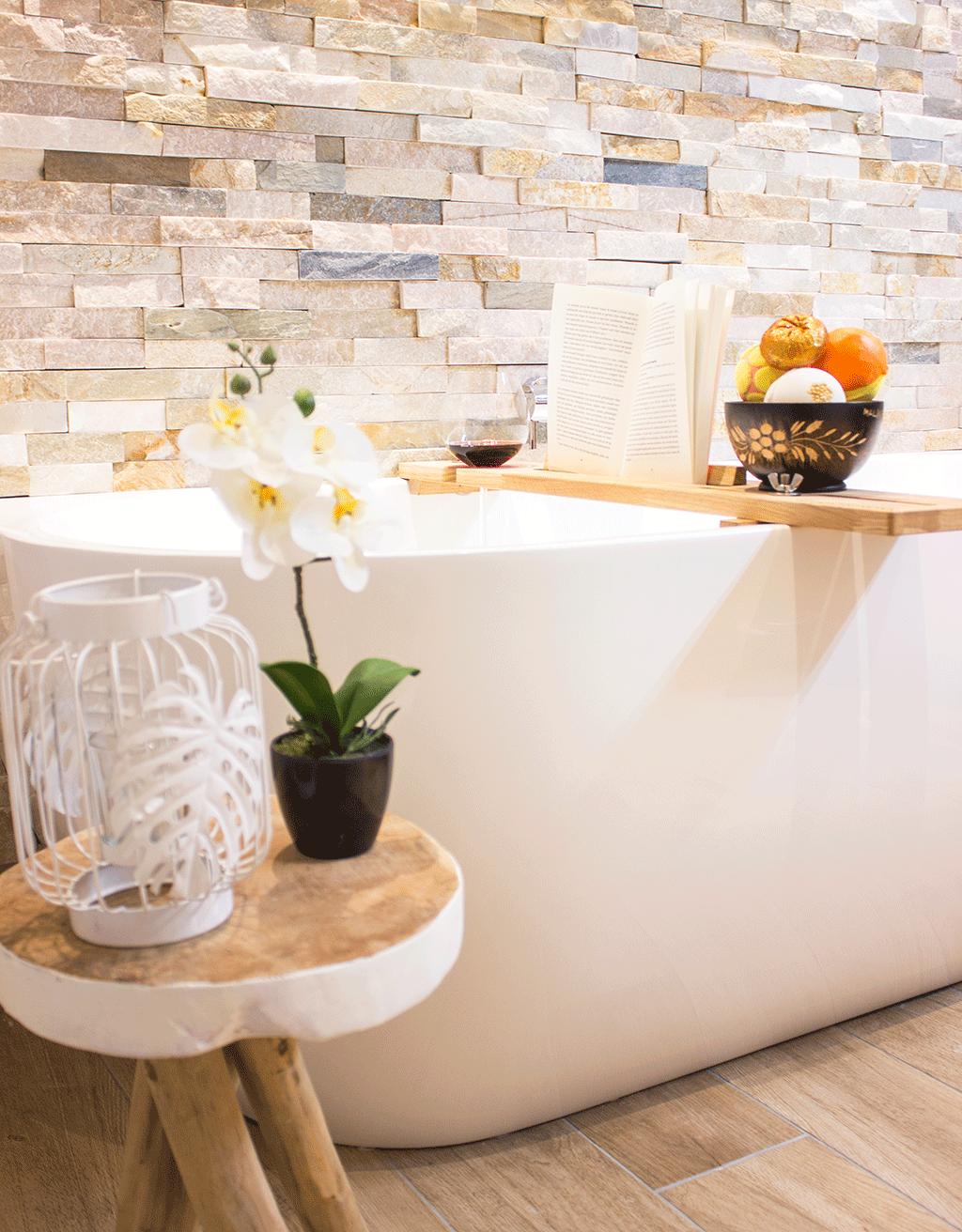 Lekker badderen met de badplank van Studio Stronk