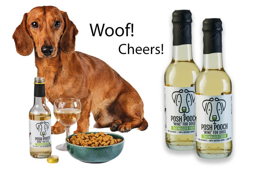 Hond een wijntje? Hondenwijn in de schappen van ALDI