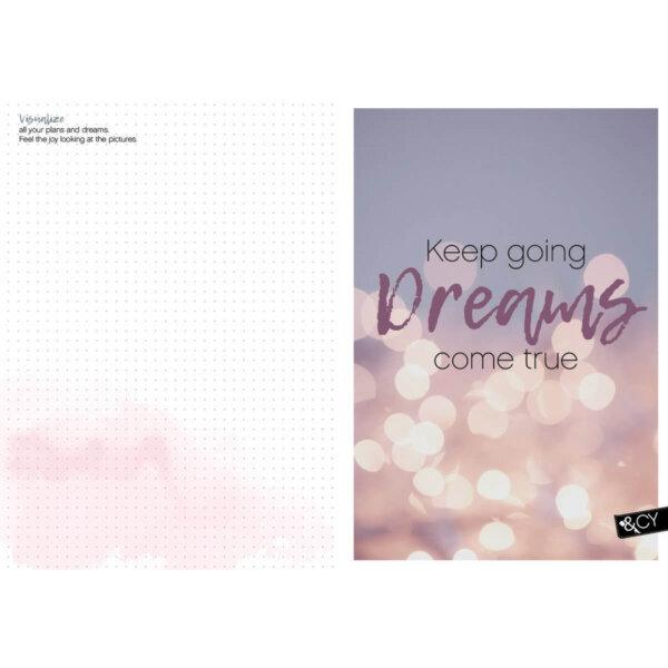 Planner voor vrouwelijke ondernemers bulletpagina met quote