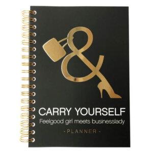 Planner vrouwelijke ondernemer Carry Yourself