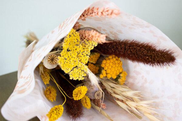Droogbloemen boeket herfst