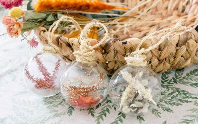 DIY | Herfst glazen decoratieballen