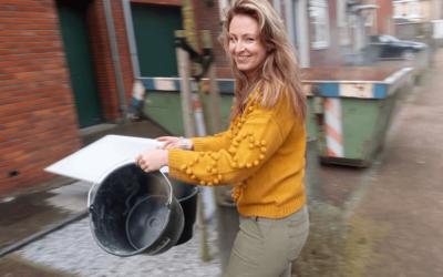 Verhuisvlog #3 | 80 verhuisdozen, gele muren & veel puin